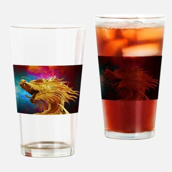 Cute Seal club Drinking Glass