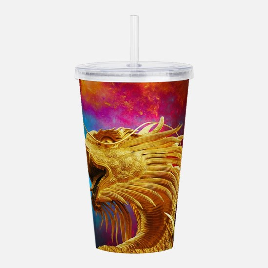 Cute Bold and the beautiful Acrylic Double-wall Tumbler