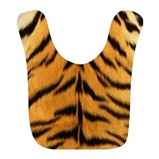 Tiger Fur Print Bib