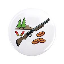 "Shotgun Hunting 3.5"" Button (100 pack)"