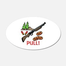 Skeet Pull Wall Decal