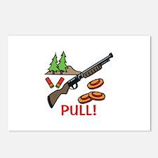 Skeet Pull Postcards (Package of 8)