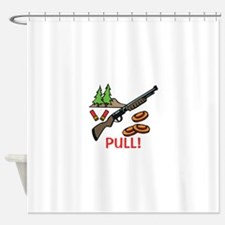 Skeet Pull Shower Curtain