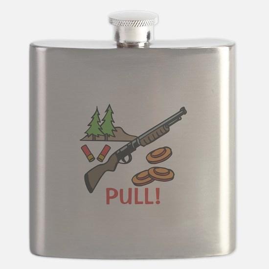 Skeet Pull Flask