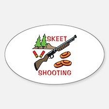 Skeet Shooting Decal