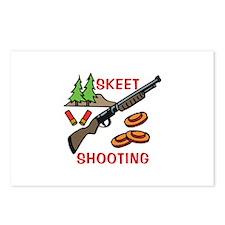 Skeet Shooting Postcards (Package of 8)