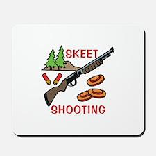 Skeet Shooting Mousepad