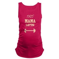 Cute Workout funny Maternity Tank Top