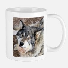 Wolf looking up Mugs