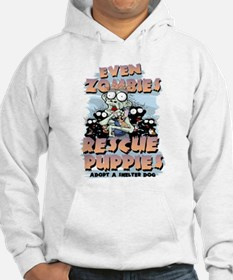 Even Zombies Rescue Puppies Hoodie