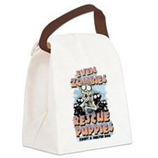 Even Zombies Rescue Puppies Canvas Lunch Bag