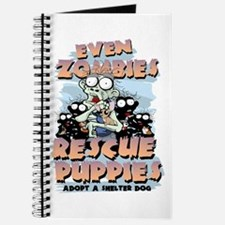 Even Zombies Rescue Puppies Journal