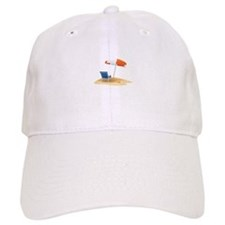 Beach Umbrella Baseball Baseball Cap