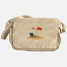 Beach Umbrella Messenger Bag