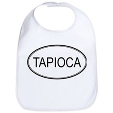 TAPIOCA (oval) Bib