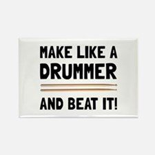 Drummer Beat It Magnets