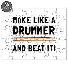 Drummer Beat It Puzzle