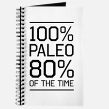 100% paleo 80% of the time Journal