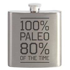 100% paleo 80% of the time Flask