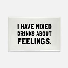 Mixed Drinks Feelings Magnets
