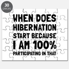 Participating In Hibernation Puzzle