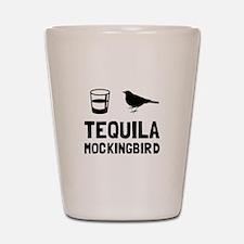 Tequila Mockingbird Shot Glass