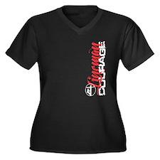 Lineman Courage Plus Size T-Shirt