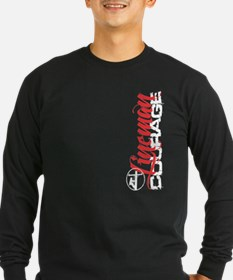 Lineman Courage Long Sleeve T-Shirt