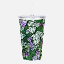Floral Abundance Acrylic Double-wall Tumbler