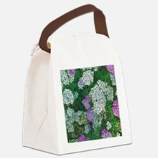 Floral Abundance Canvas Lunch Bag