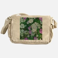 Floral Abundance Messenger Bag