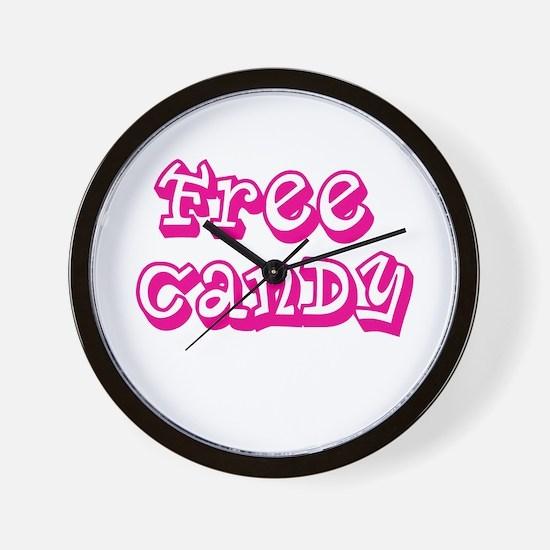 Cute Free candy Wall Clock