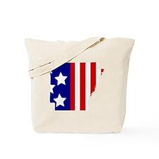 Arkansas Stars & Stripes Tote Bag