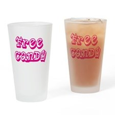 Unique Candy Drinking Glass
