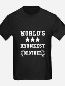 Worlds Drunkest Brother T-Shirt