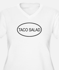 TACO SALAD (oval) T-Shirt