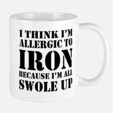 Allergic to iron all swole up Mugs