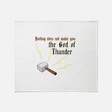 Cute Thor Throw Blanket