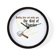 Unique Thor Wall Clock