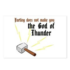Cute Thor hammer Postcards (Package of 8)
