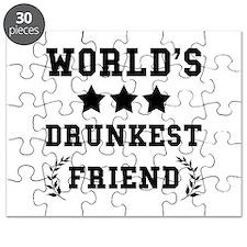 Worlds Drunkest Friend Puzzle