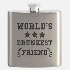 Worlds Drunkest Friend Flask