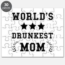 Worlds Drunkest Mom Puzzle