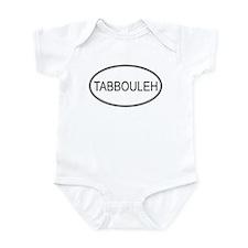 TABBOULEH (oval) Infant Bodysuit