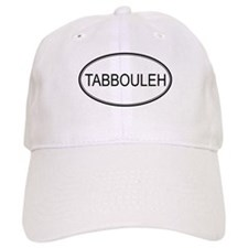 TABBOULEH (oval) Baseball Cap