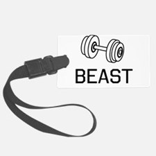 Beast weights Luggage Tag