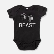 Beast weights Baby Bodysuit