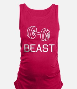 Beast weights Maternity Tank Top