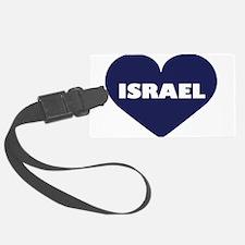 I Love Israel Luggage Tag