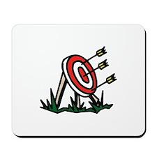 Target Bulls Eye Mousepad